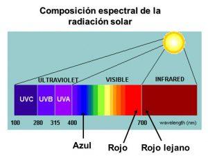 Composicion espectral